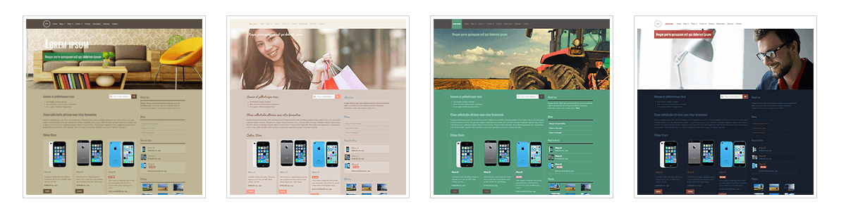Grafikvorlagen - Responsive > Business